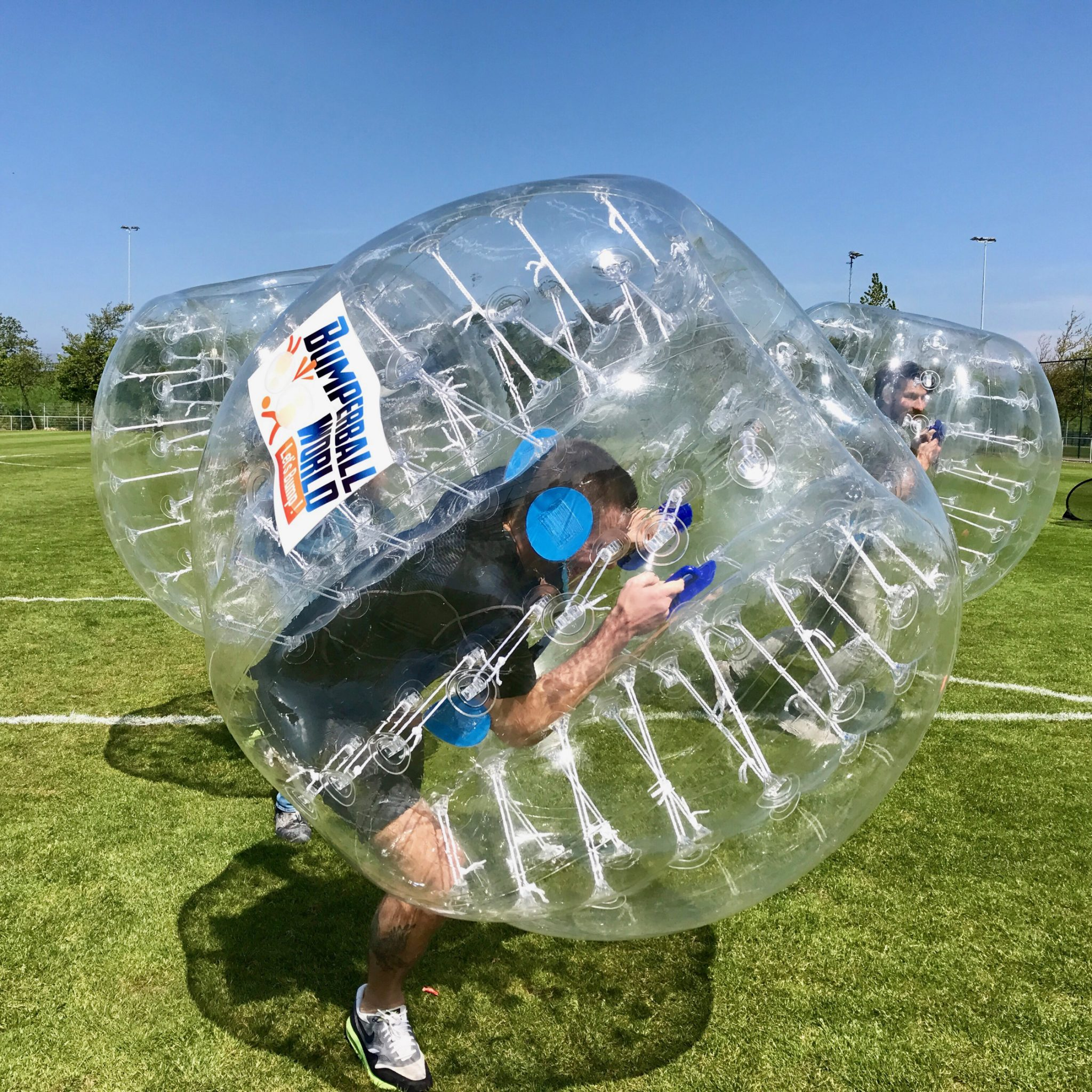 Bubbel voetbal huren