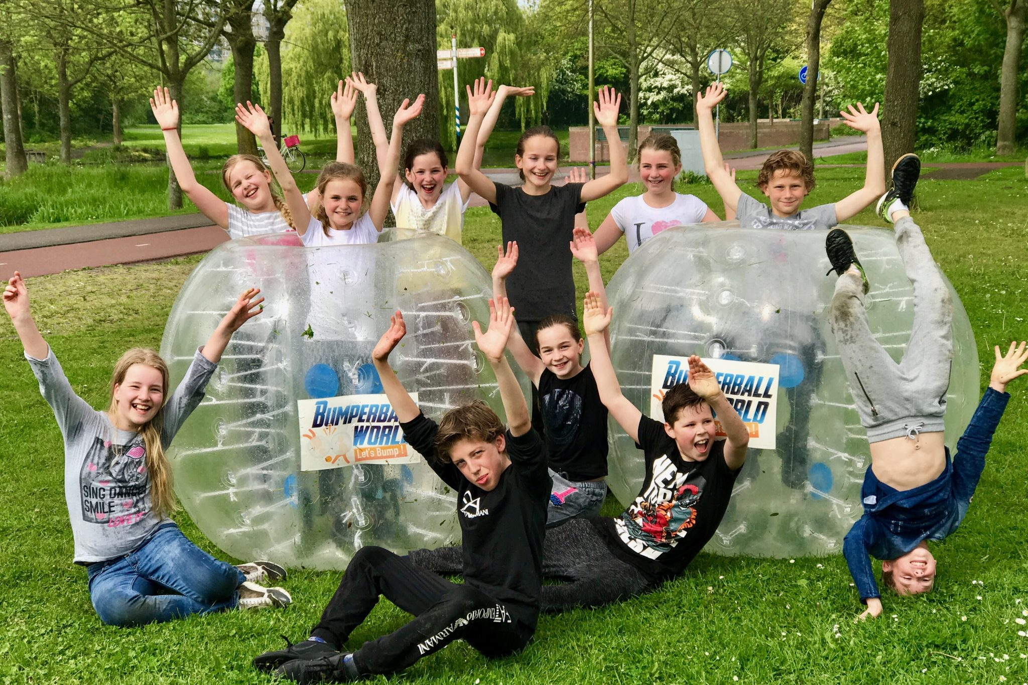 Bubbelball Kinderfeestje