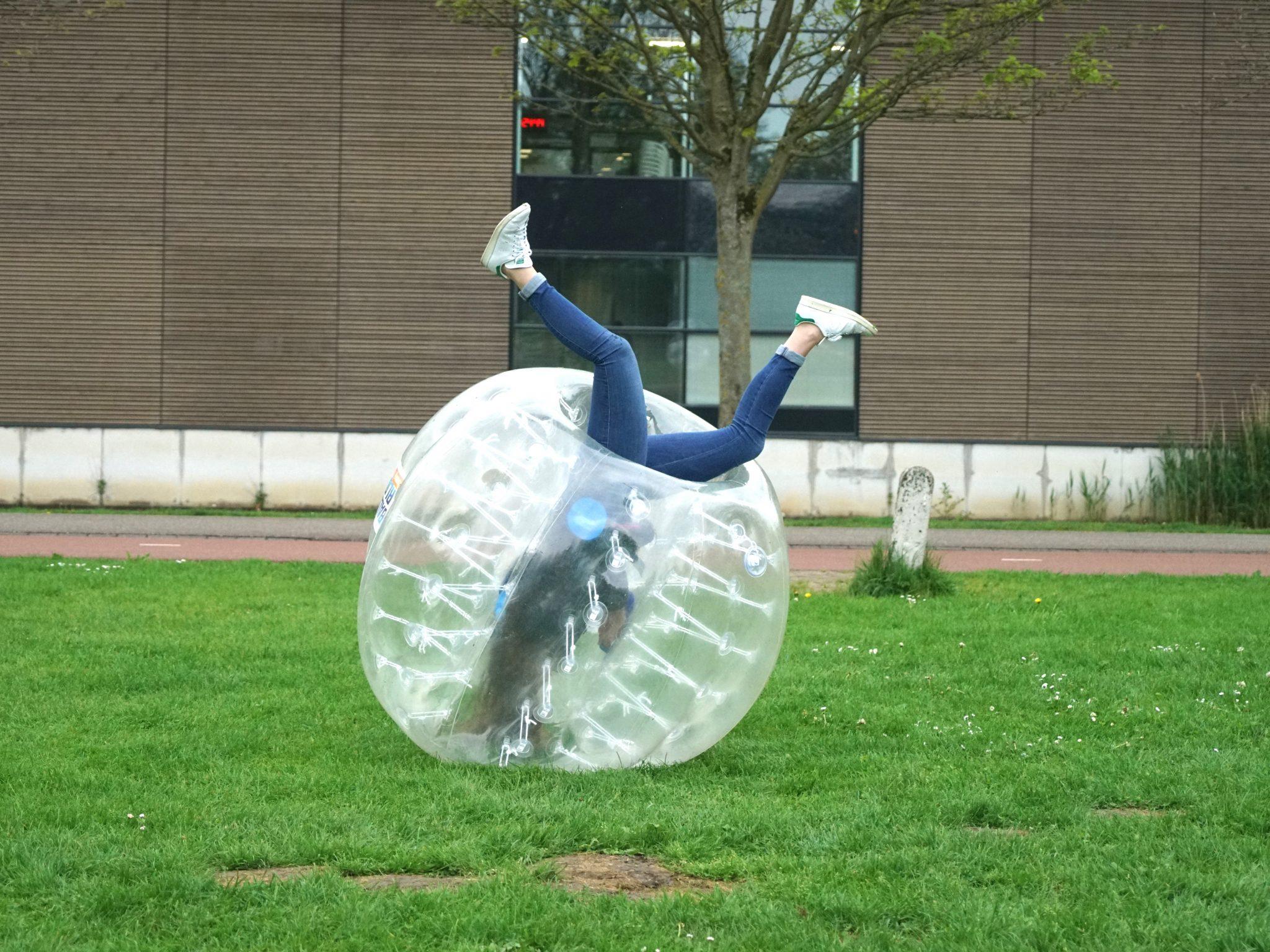 bubbelbal scholen sportdag